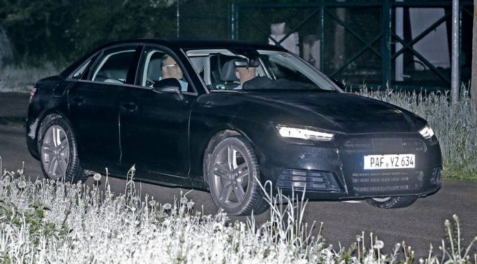 Next-Gen Audi A4 Spy Shots with Minimal Camo