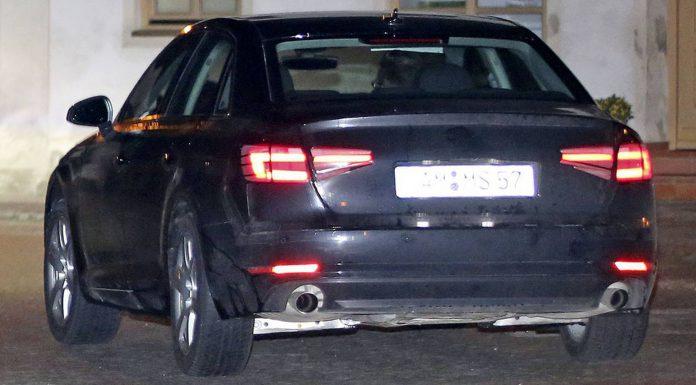 2016 Audi A4 Spy Shots Rear