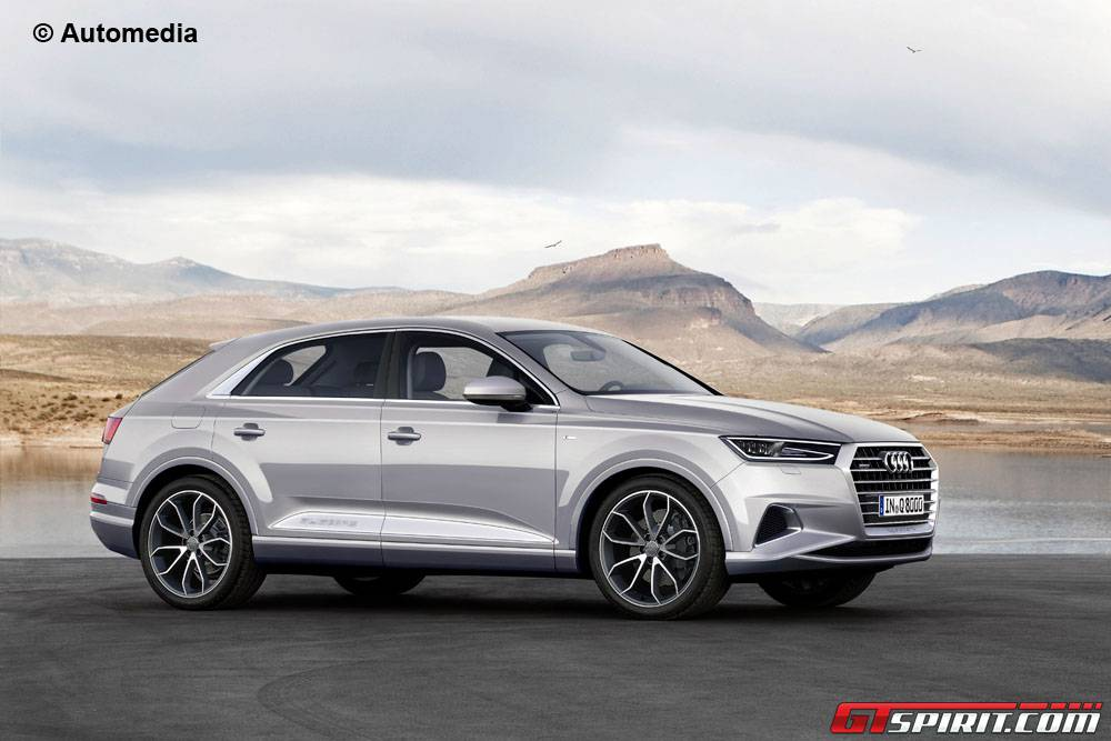 Impending Audi Q8 Expertly Rendered - GTspirit