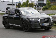 Audi SQ7 spy shots front
