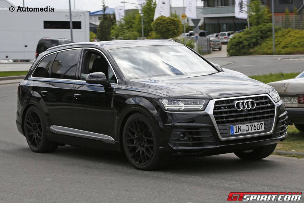 Potent Audi Sq7 Spy Shots Without Camo Gtspirit