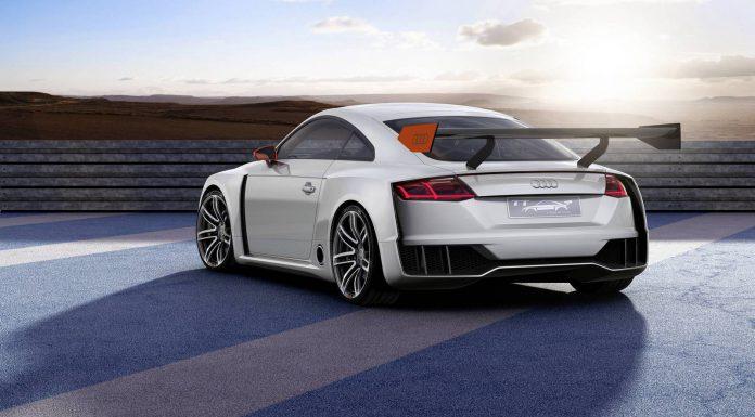 Audi TT Clubsport Turbo Concept Rear
