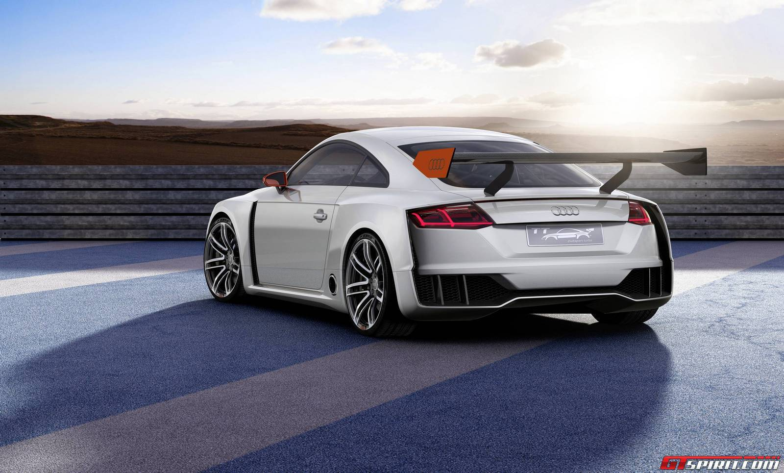 official  audi tt clubsport turbo concept