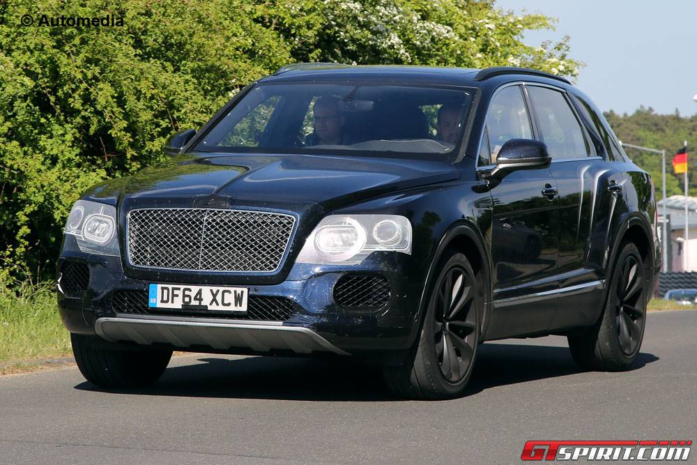 Bentley Bentayga SUV front
