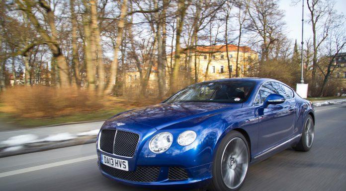 Next-generation Bentley Continental GT
