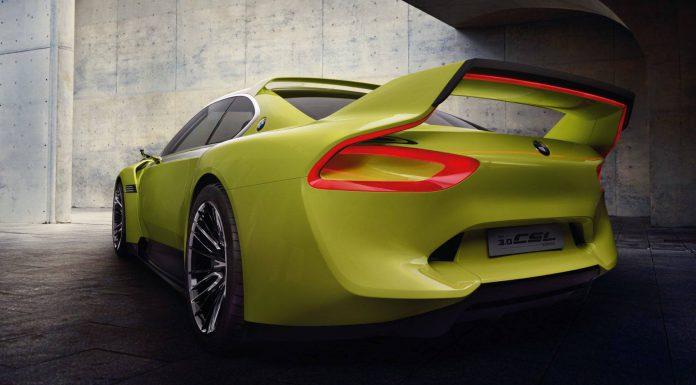 BMW 3.0 CSL Hommage Rear