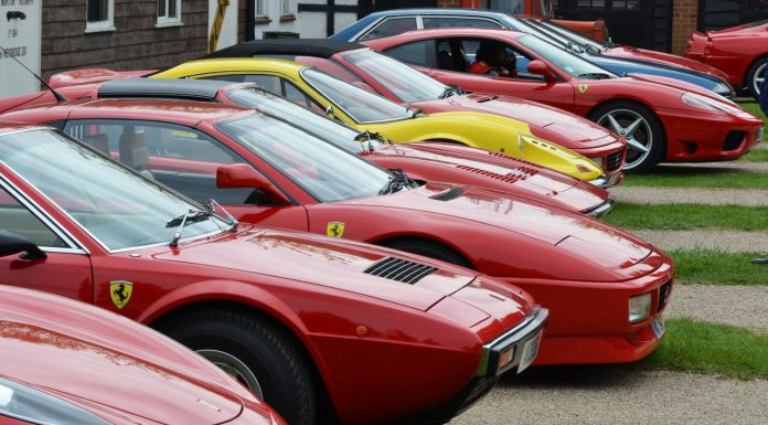 Brooklands Auto Italia 2015 Ferrari Group
