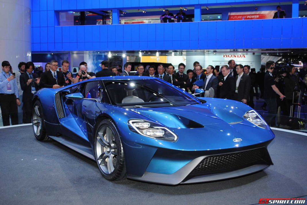 Over 700hp for 2016 Ford GT