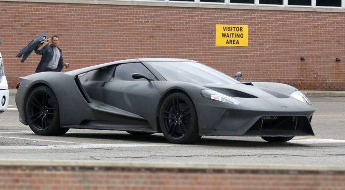 2017 Ford GT front Spy Shots