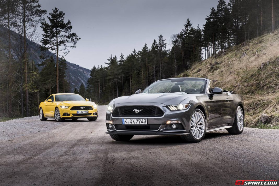 European Ford Mustang