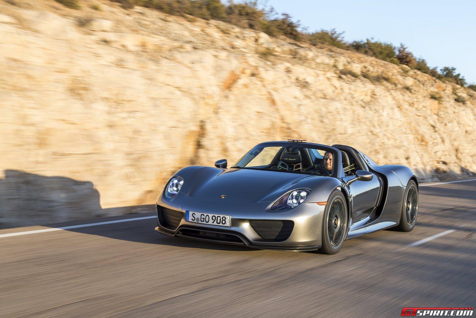 Porsche 918 Spyder Recalled Due To Wiring Issue