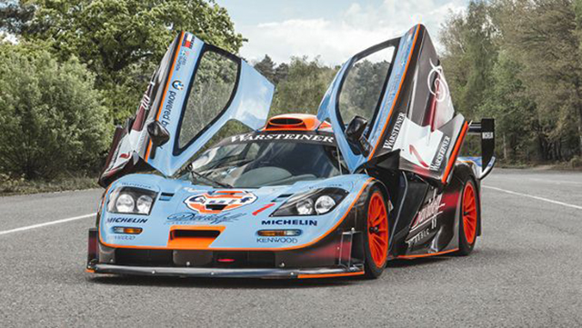 rare 1997 mclaren f1 gtr longtail for sale gtspirit. Black Bedroom Furniture Sets. Home Design Ideas