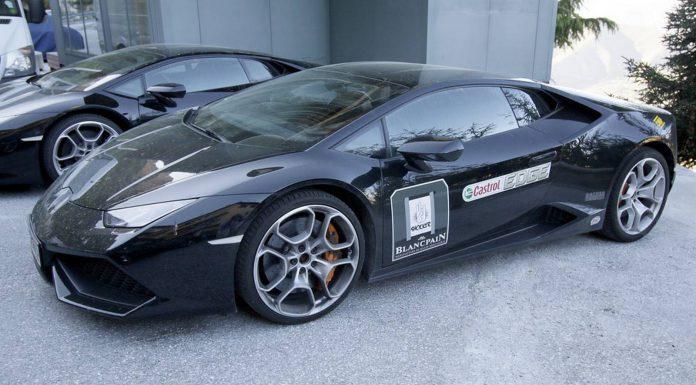Lamborghini Huracan 'Superleggera' Test Mule