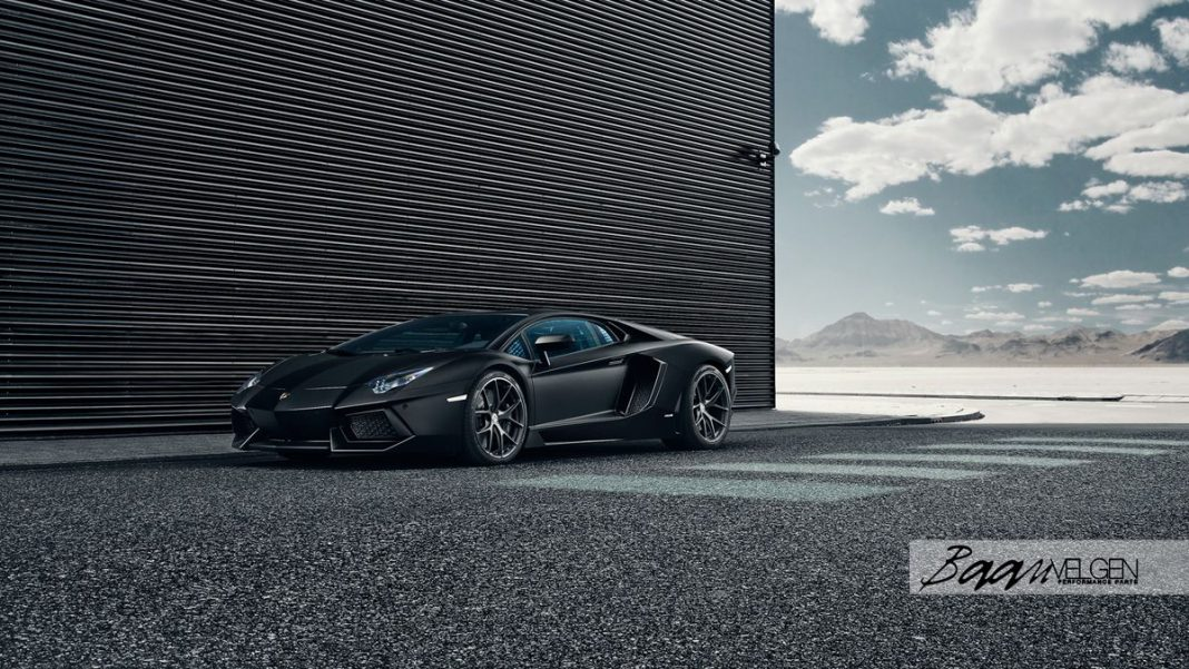 Lamborghini Aventador with HRE Wheels