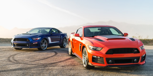 2015 Roush Mustang Stage 3 Red and Blue