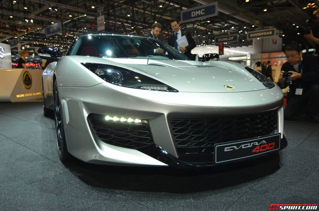 Lotus Evora 400 Priced from $89,900