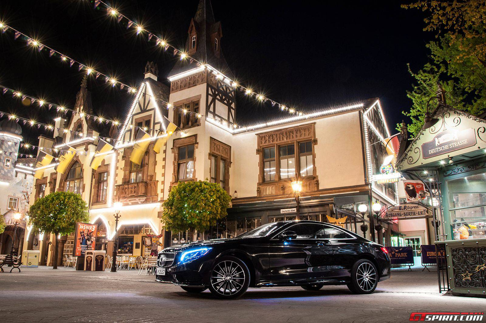 a night at europa park with mercedes benz 2015 gtspirit. Black Bedroom Furniture Sets. Home Design Ideas