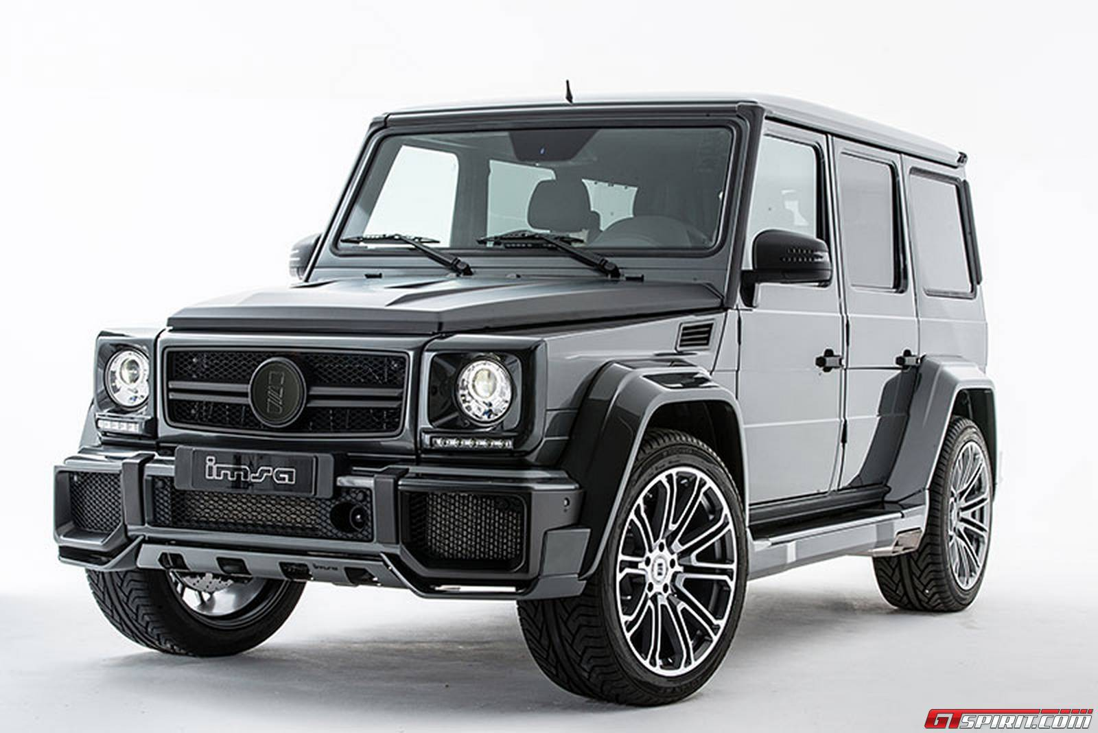 Official 730hp mercedes benz g63 amg by imsa gtspirit for Camioneta mercedes benz