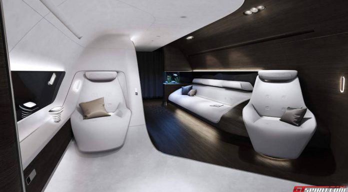 Mercedes-Benz Design Airplane Private Jet Interior