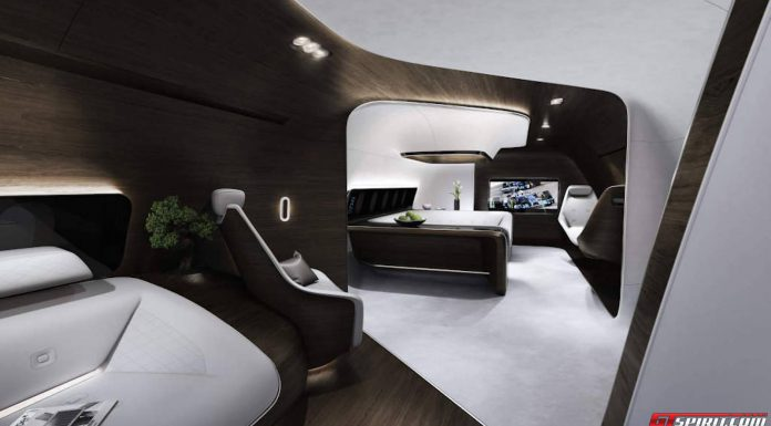 Mercedes-Benz Design Private Jet Interior Boeing 737 Airbus A320
