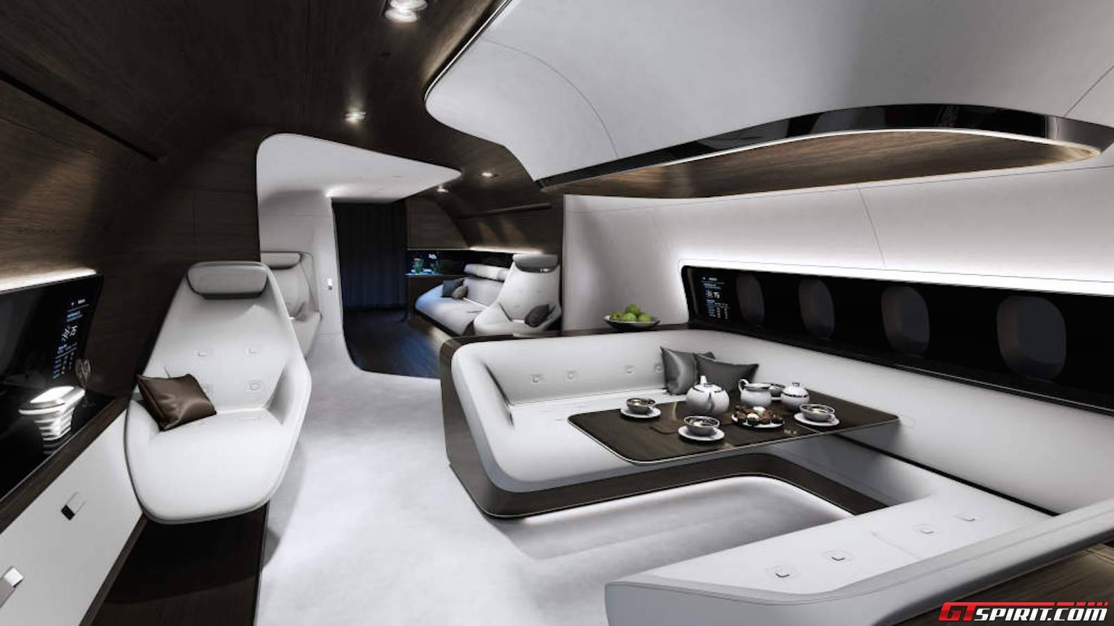 Mercedes Benz Design Shows First Luxurious Private Jet