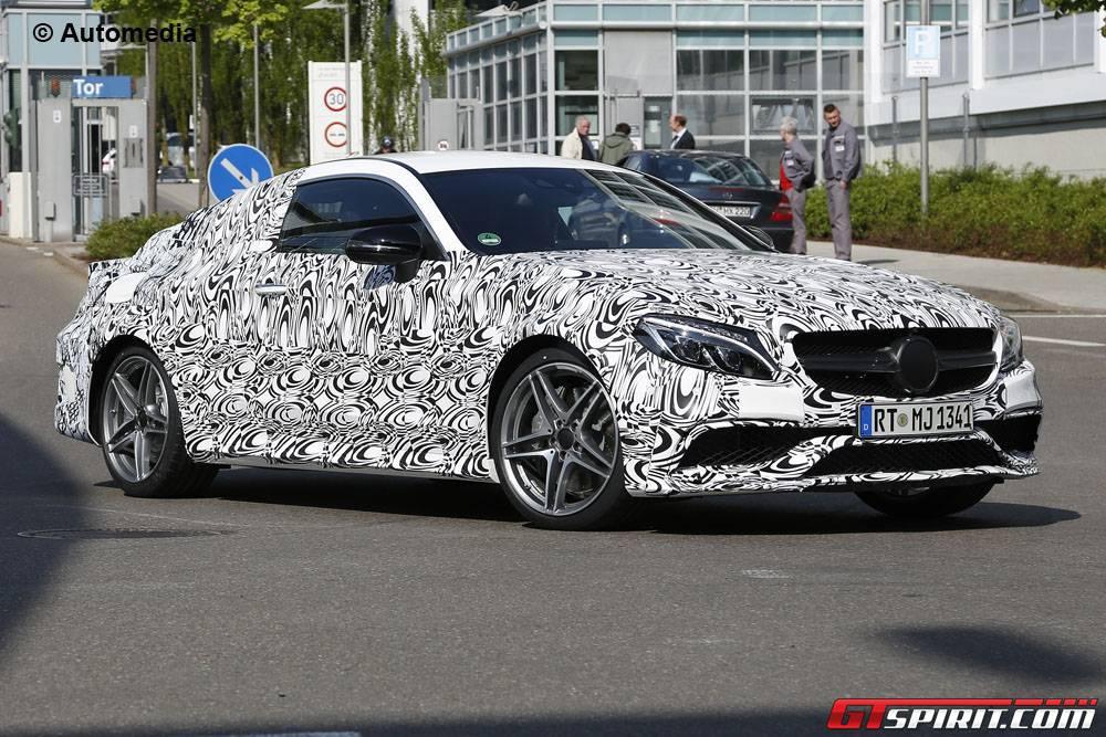 2016 Mercedes-AMG 63 Coupe Spy Shots Emerge Again