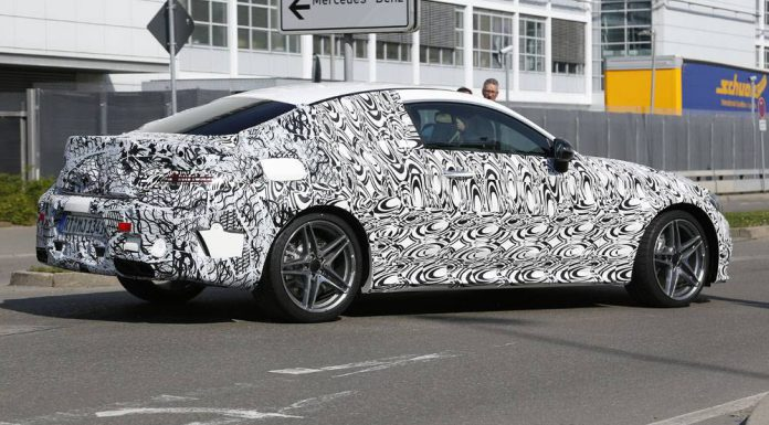 2016 Mercedes-AMG 63 Coupe Spy Shots Rear Side
