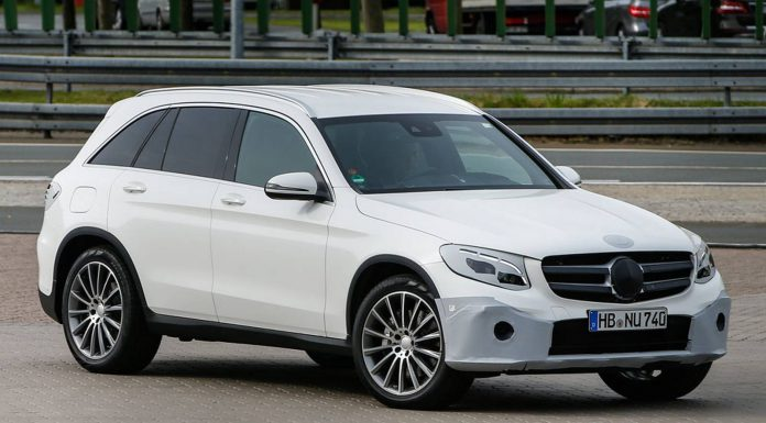 2016 Mercedes-Benz GLC Spy Shots Front