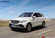 Mercedes-Benz GLE rendering