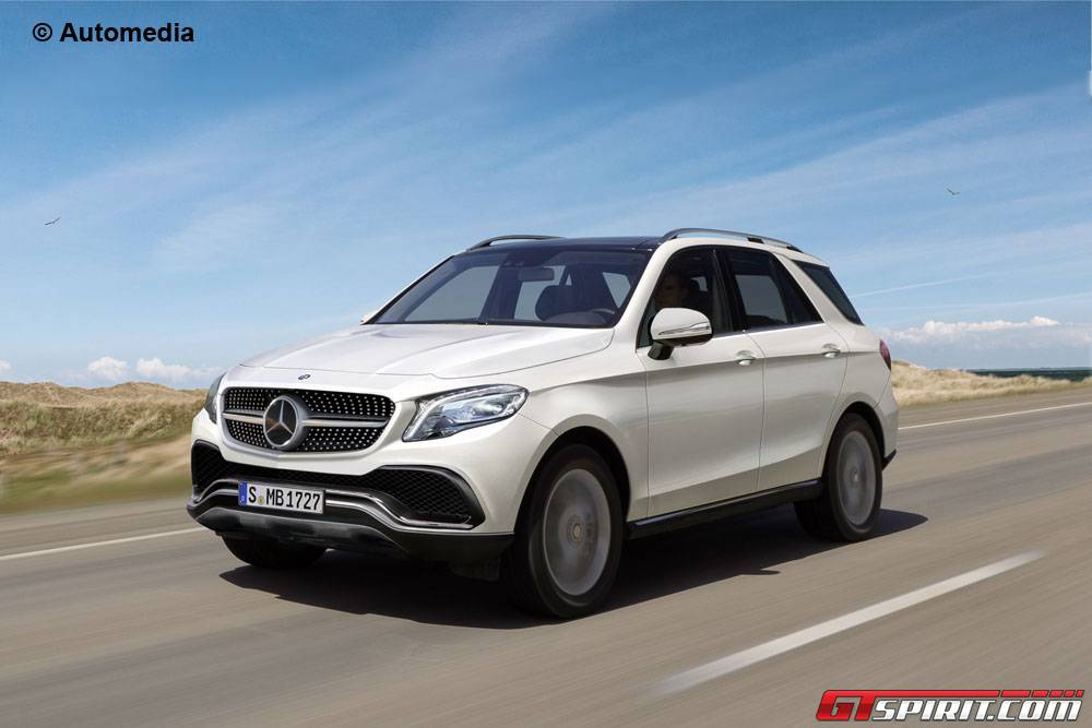 Mercedes Benz Gle Rendering