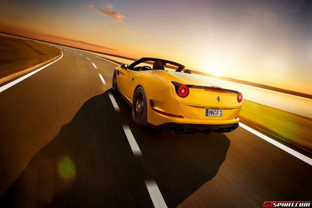Novitec Rosso Ferrari California T Rear