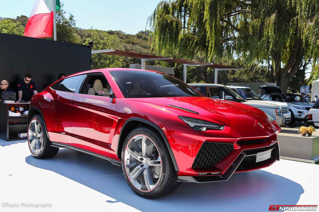 Italian government Lamborghini Urus incentives