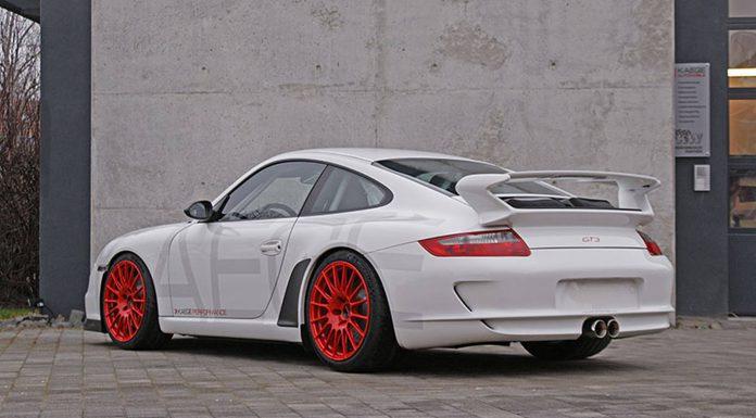 Porsche 911 GT3 Clubsport Rear