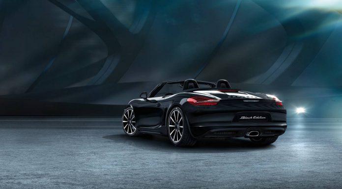 Official: Porsche Boxster Black Edition