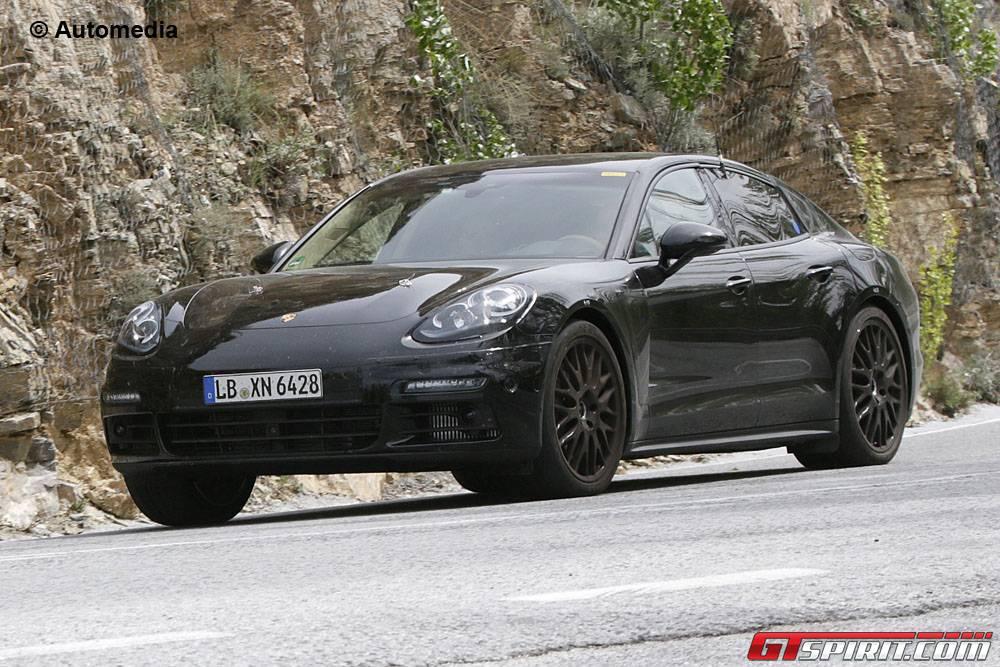 2017 Porsche Panamera Hybrid Spy Shots