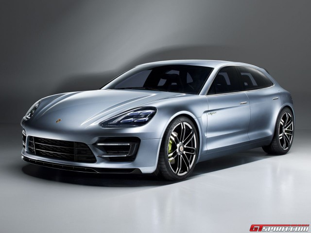 Porsche electric concept coming to Frankfurt 2015