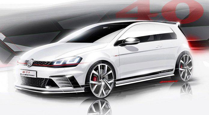 Volkswagen Golf GTI Clubsport Concept revealed