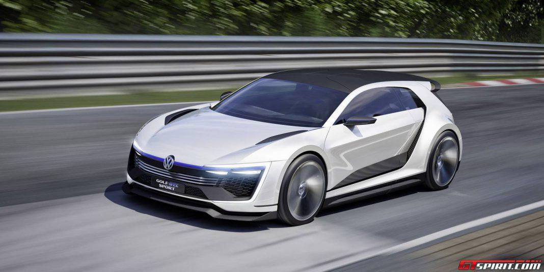 Volkswagen Golf GTE Sport Concept front