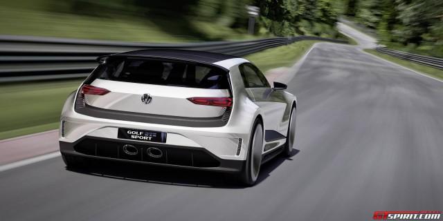 Volkswagen Golf GTE Sport Concept back