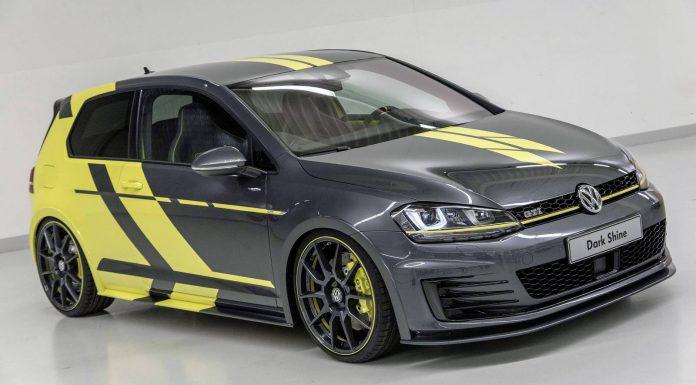 Volkswagen Golf GTI Dark Shine front