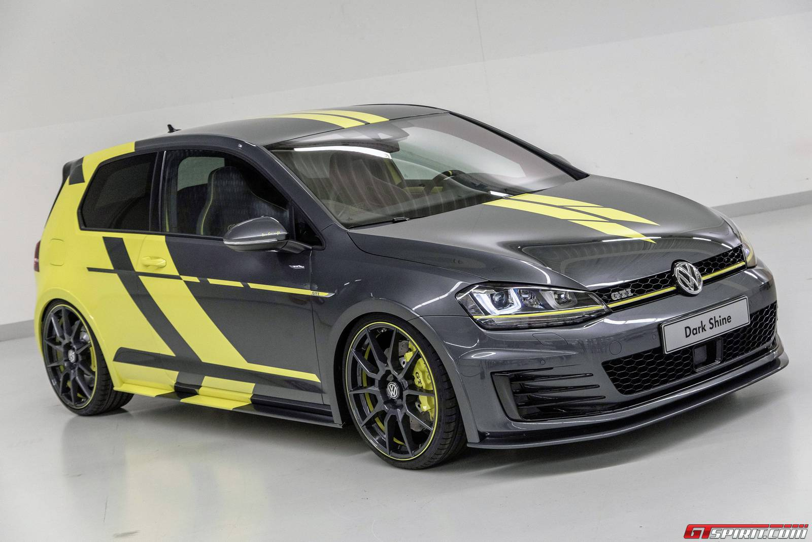 official volkswagen golf gti dark shine gtspirit. Black Bedroom Furniture Sets. Home Design Ideas