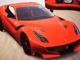 Ferrari F12 GTO Leaked