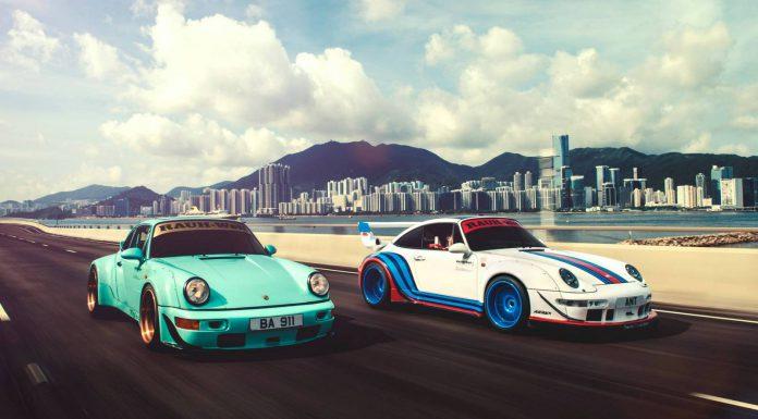 Photo of the Day: Double RWB Porsche 911 in Hong Kong