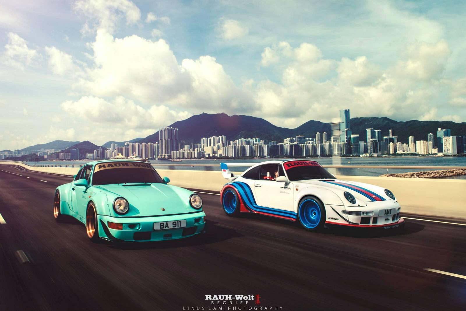 Photo Of The Day Double Rwb Porsche 911 In Hong Kong