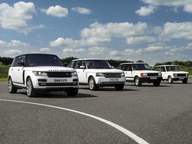 Range Rover Celebrates 45th Birthday - Four Generations of Luxury