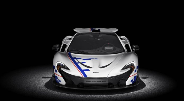 Official: MSO McLaren P1 Alain Prost Edition
