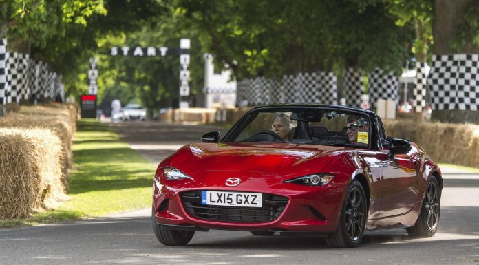 Mazda MX-5 at Goodwood Festival of Speed