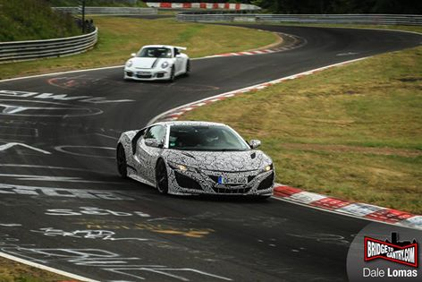 Honda NSX Goes Back to the Nurburgring for More Tests