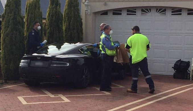 Aston Martin DB9 Dumped by Thieves After Hot Pursuit in Australia