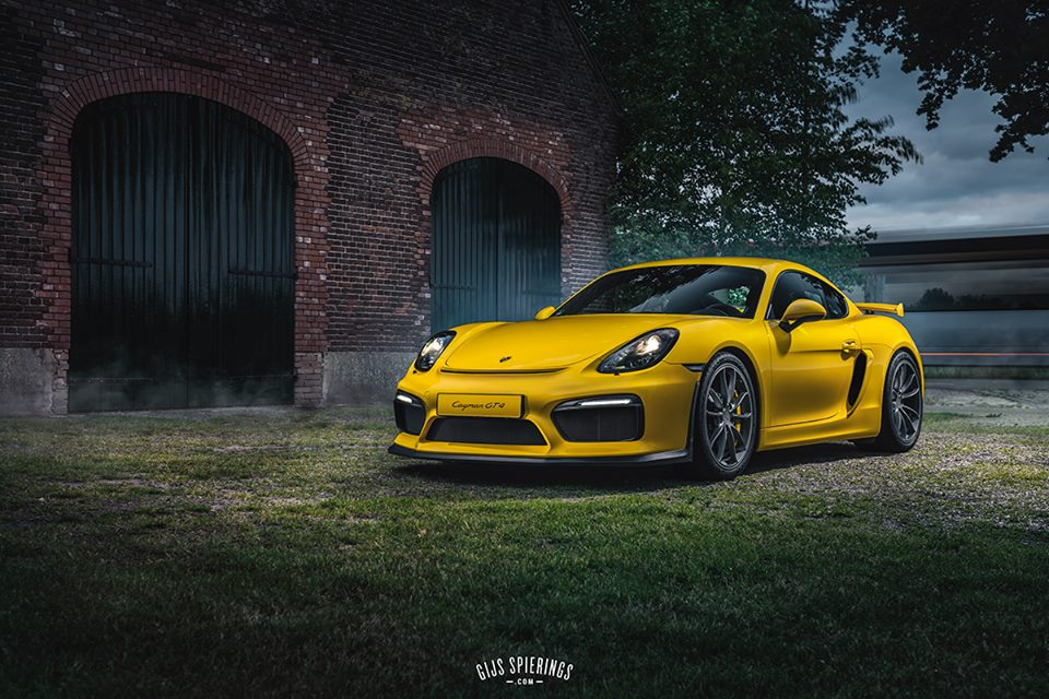 Cayman GT4 by GS Automotive Art